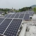 Photovoltaikanlage auf dem Bürgerhaus und der Turnhalle Oberemmel