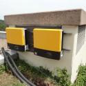 Photovoltaikanlage auf dem zentralen Trinkwasser-Hochbehälter in Wasserliesch