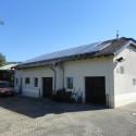 Photovoltaikanlage auf der Kläranlage in Nittel
